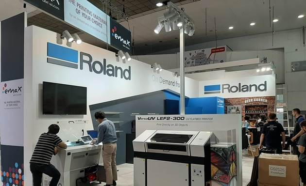 Roland believes that the exhibition is the best place for global exposure