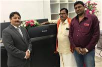 R Ranjith Kumar (r): The Canon imagePress C10000VP installation is in line with our vision to expand our services and cater to a larger client base