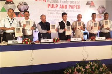 The book, 'Farmer and Planet Friendly - NewGen Eucalyptus' by Outreach was launched by Jigmet Takpa, joint-secretary, ministry of environment, forests and climate change recently