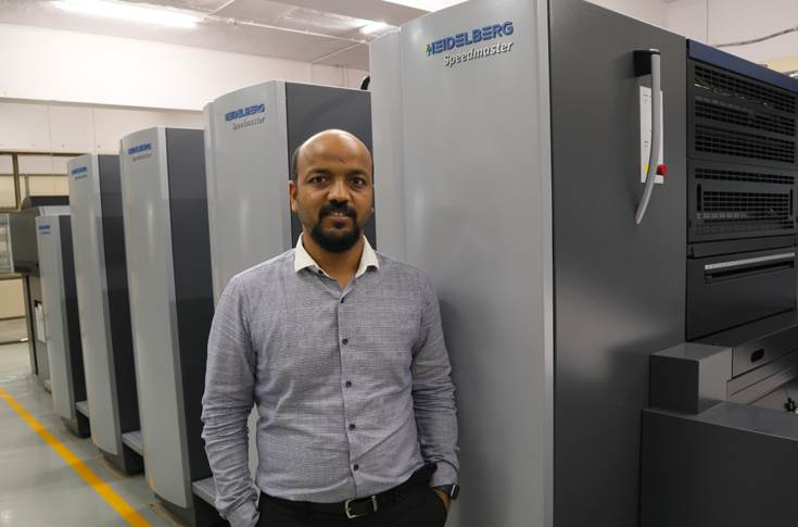 Jitendra Kalani, co-founder, Kagaz Press, is not only a top-quality printer but also a CA and CFA