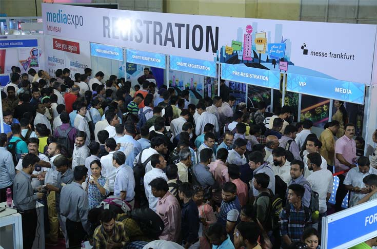 Image from Media Expo Mumbai 2018