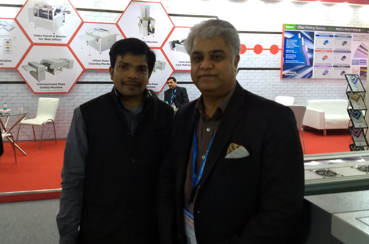 Sanjeev Chaddha of Memory Repro (right)