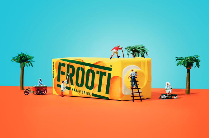 Frooti has a marketshare of 27 per cent nationally and is number one in Delhi, UP, Haryana and Kerala