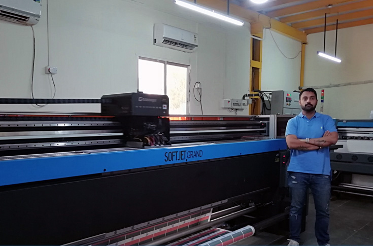 The Softjet at Flags and Signage