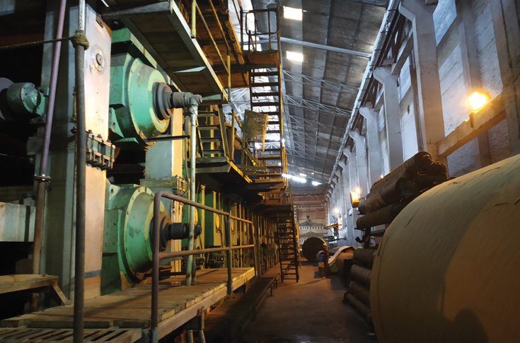 The Moradabad plant boasts of two paper mills manufacturing multi-layered kraft paper