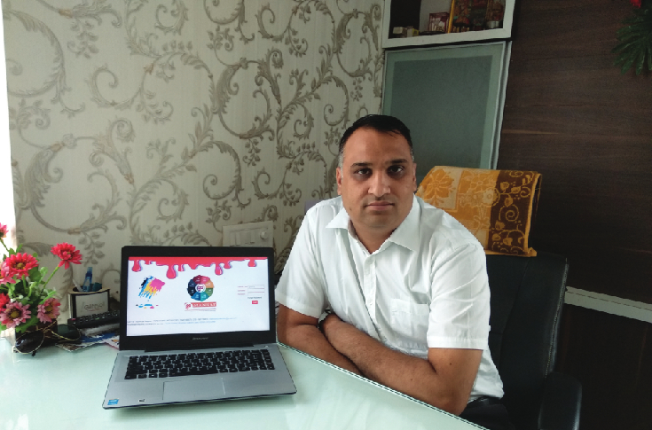 Bhuvnesh Joshi of Mannat Print Management