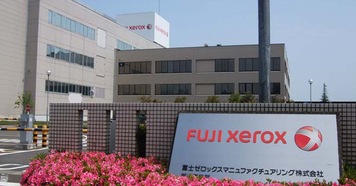Fuji Xerox manufacturing centre at Niigata, Japan