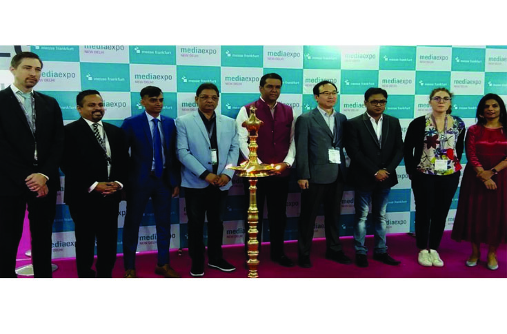 Media Expo 2018 New Delhi was inaugurated on 7 September at Pragati Maidan, New Delhi