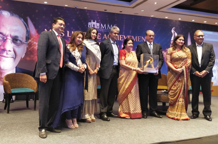 MMS Lifetime Achievement 2018 awarded to Ramesh Kejriwal of Parksons Packaging