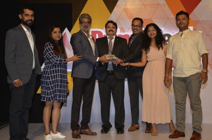 Trigon Digital Solutions won the award for the Digital Printer of the Year at the 10th edition of the PrintWeek India Awards