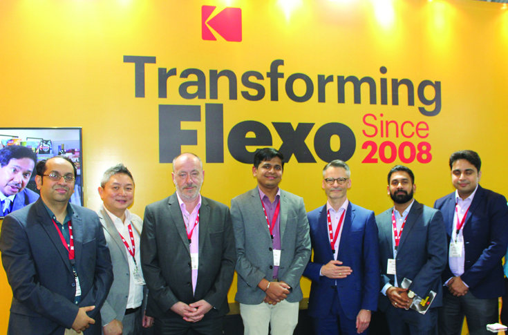 The Kodak team at Labelexpo 2018
