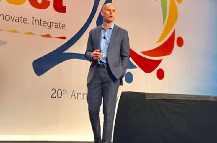 EFI CEO Bill Muir delivered the keynote to open the Connect 2019 which was held from 22-25 Jan 2019