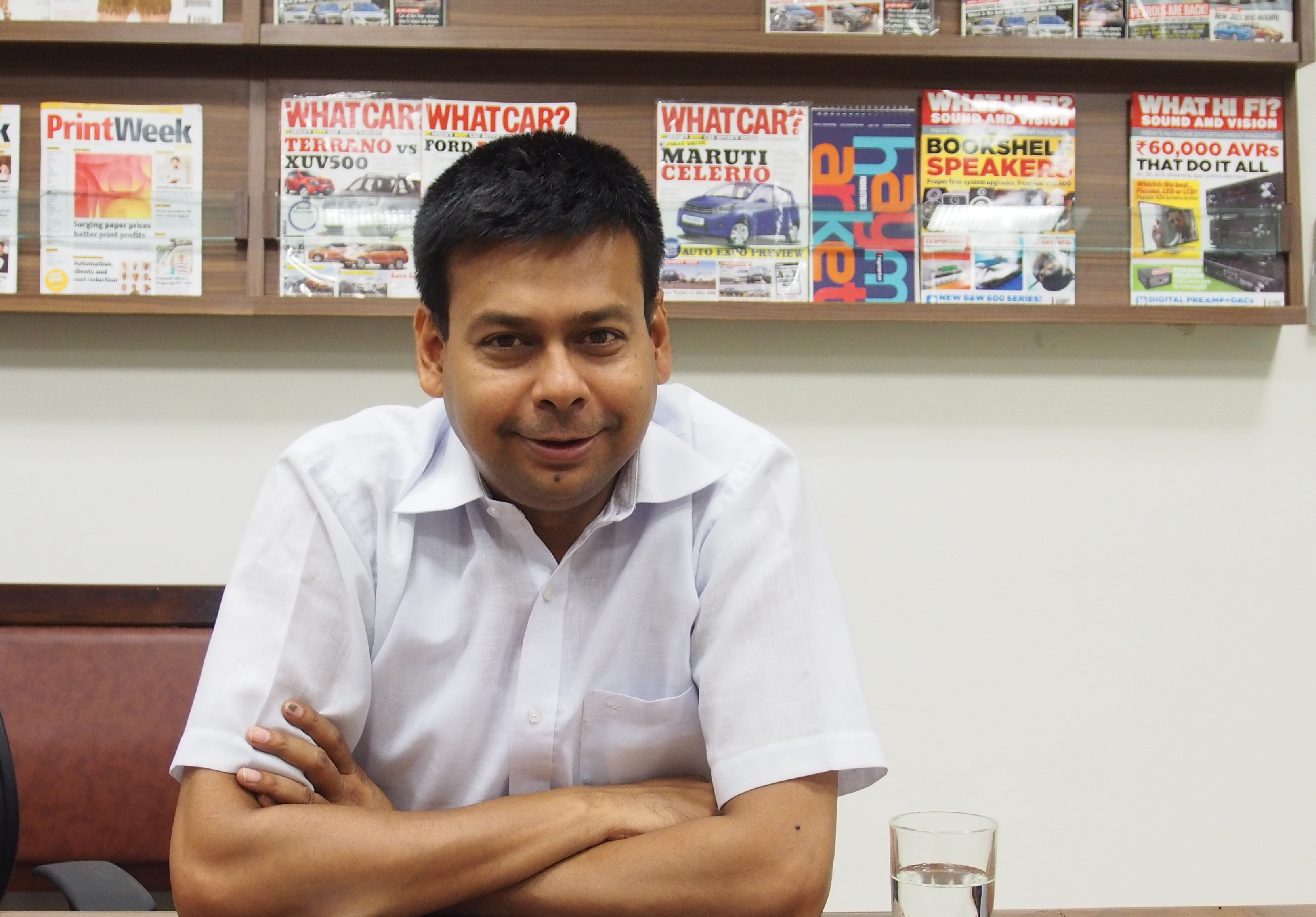 Ajay Agarwal, director of Insight Print Communications
