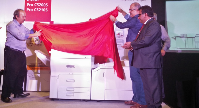 The launch of Ricoh Pro C5200s and Pro C5210s