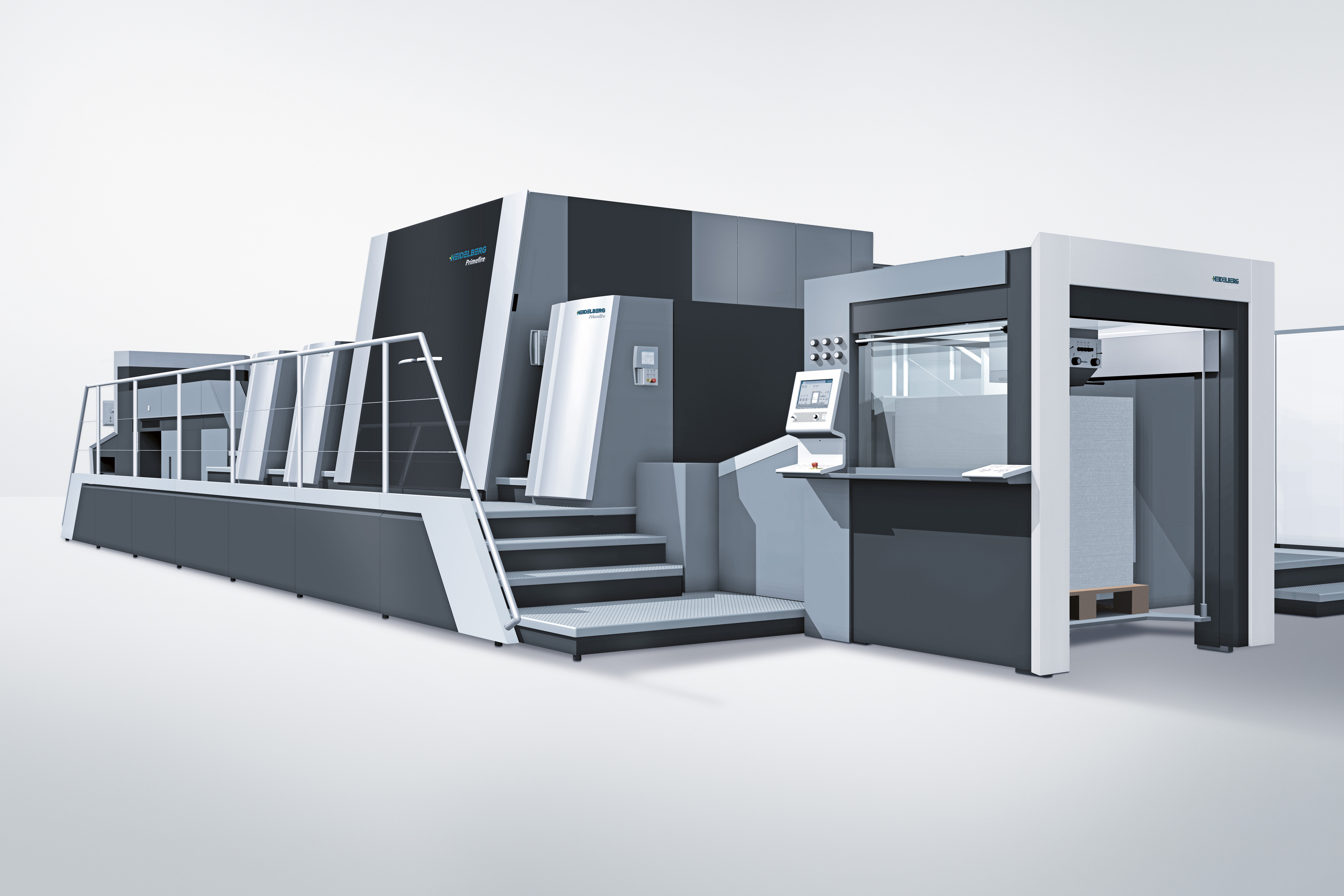 The Heidelberg Primefire 106 is the first industrial digital printing system in B1 format, the result of the development partnership between Heidelberg and Fujifilm