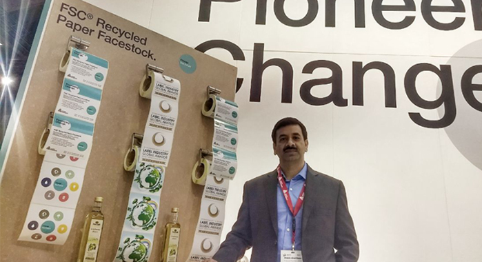 Pankaj Bhardwaj, senior director and general manager for the label and graphic materials in South Asia, Avery Dennison