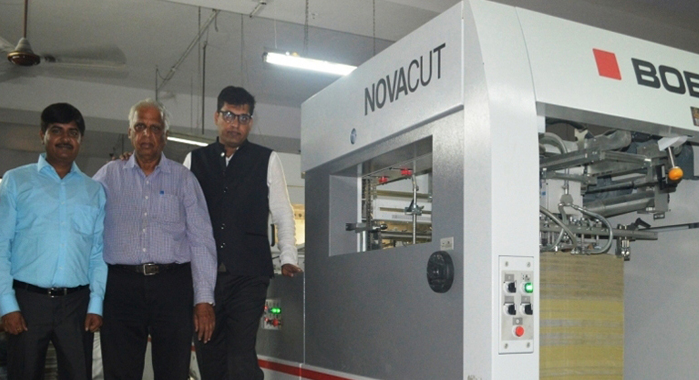 Navi-Mumbai based Rukson Packaging has invested in a brand new Bobst Expertfold, the folding and gluing machine; a Bobst Novacut die-cutter, and a Heiber Schröder, window patching and liner machine to strengthen its post-press. With this investment, Rukson is aiming to become a full-fledged packaging specialist