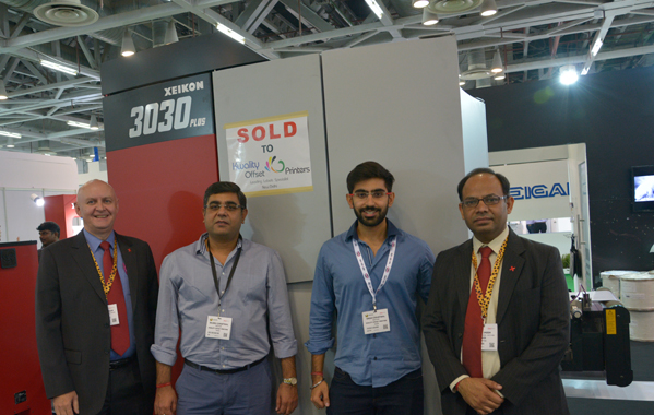 New Delhi's Kwality Offset Printers invested in a Xeikon 3030Plus
