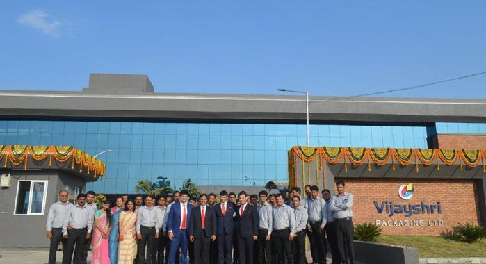 Vijayshri's new plant ia all set to cater to the pan-India needs in packaging and corrugation segment