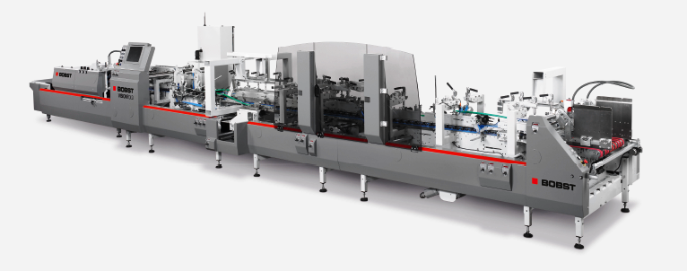 The machine on display is a modular-cum-versatile machine with multiple jobs processing capability