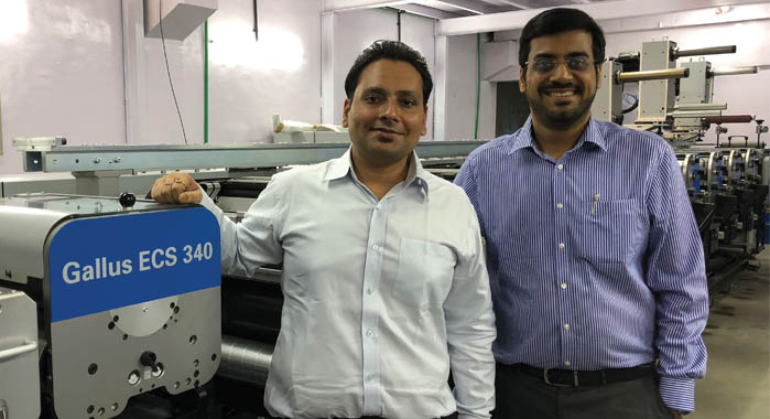 Ojha and Vaidya: ECS 340 to boost Sonic's label producing capacity
