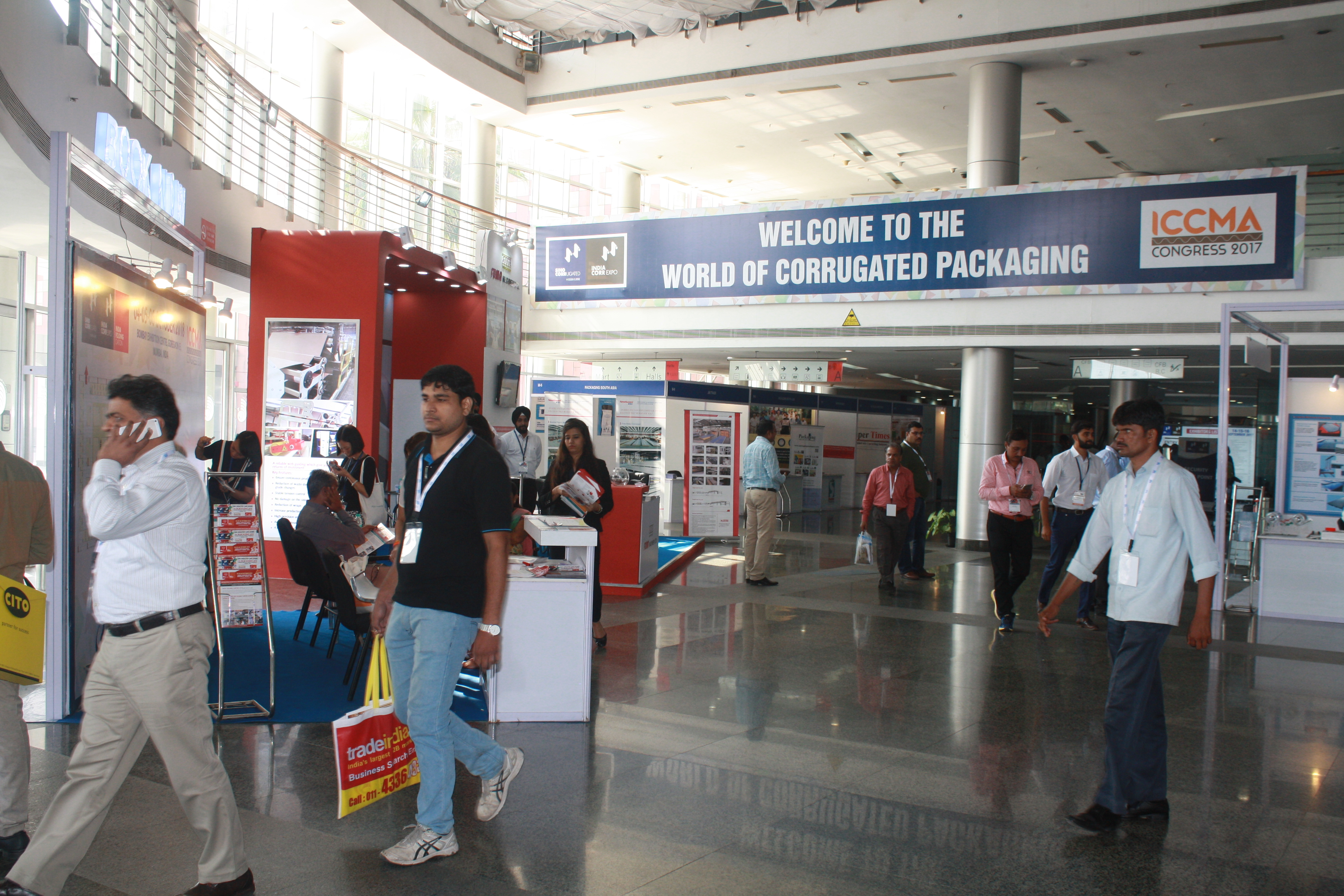 More than 250 exhibitors participated in the exhibition