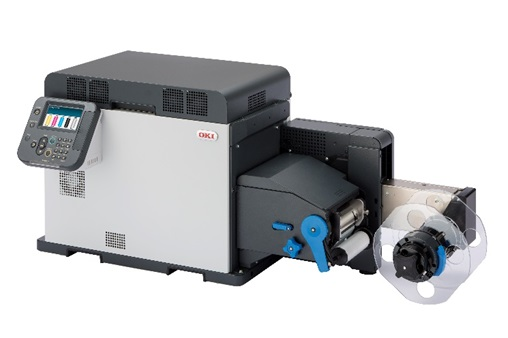 Oki Pro Series Label Printer helps businesses capture attention through creative labels