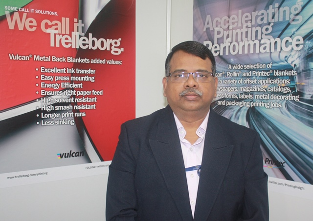 Maniraju Bora, sales and technical director, South West Asia region, Trelleborg