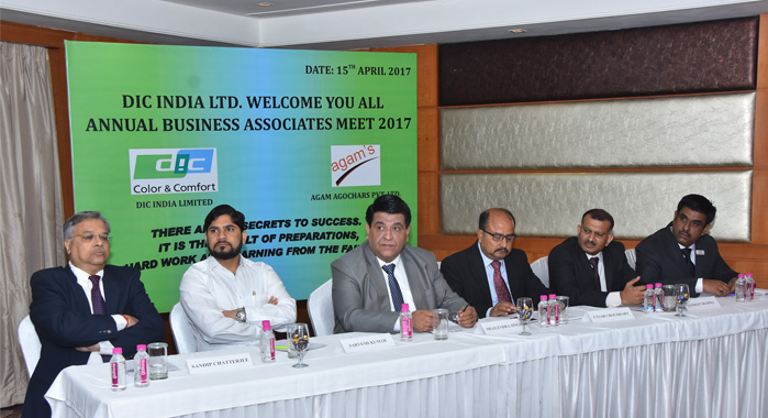 Shailendra Singh, managing director and CEO of DIC India (third from left) and others during the event in Jaipur