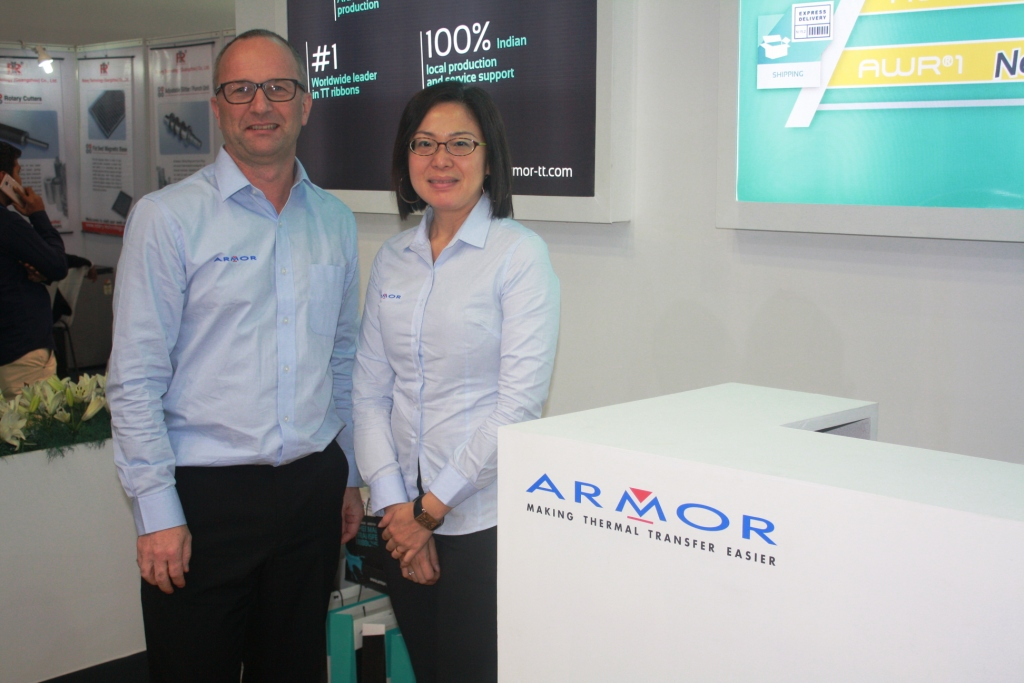 Mark Day of Armor Asia Imaging Supplies at Labelexpo India 2016