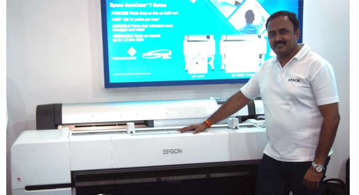 Alok Singh Chandel, regional sales manager-south, Epson India