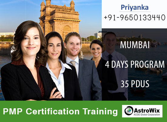 Come ahead and join the PMP Certification Training in Mumbai