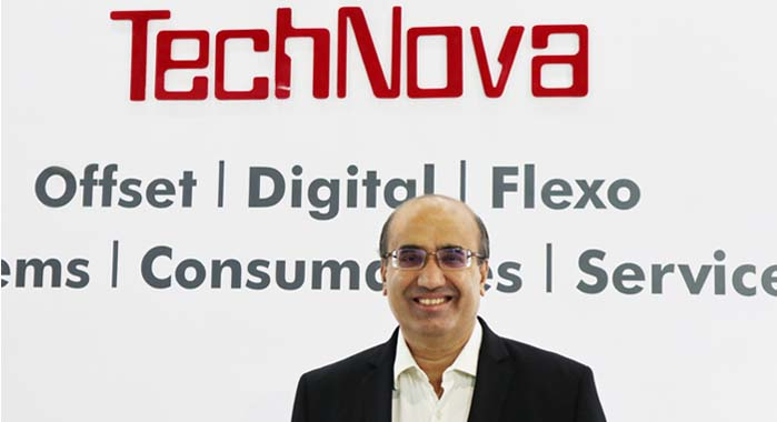 CG Ramakrishnan, CEO of TechNova