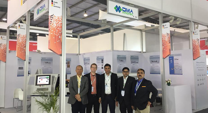 Team DMA and Insight at PlastIndia 2018