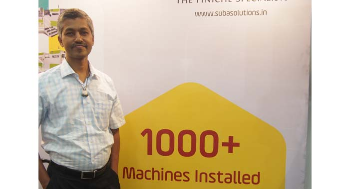 V Vaidyalingam, director at Suba Solutions