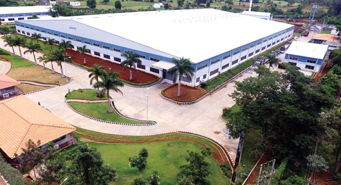 SIPM-PPD factory is situated on a 12-acre site near Mysuru