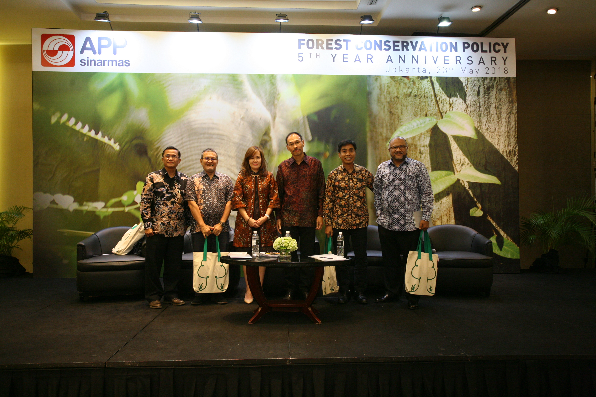 In the five years since implementing the FCP, APP has invested about USD 300 million in forest monitoring systems, landscape restoration, fire prevention and peatland research and community engagement