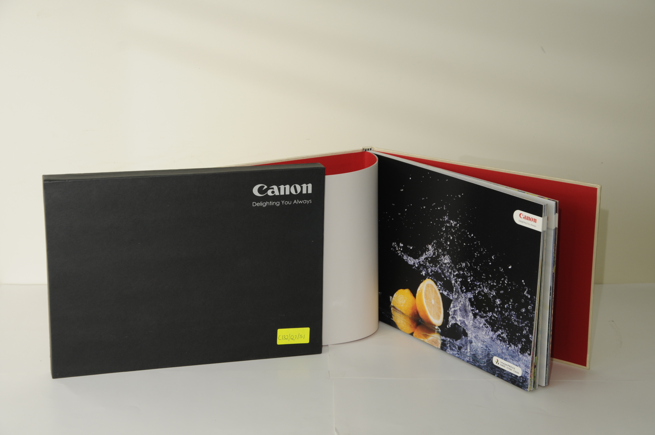 Avantika Printers' C800 Media Catalogue for Canon