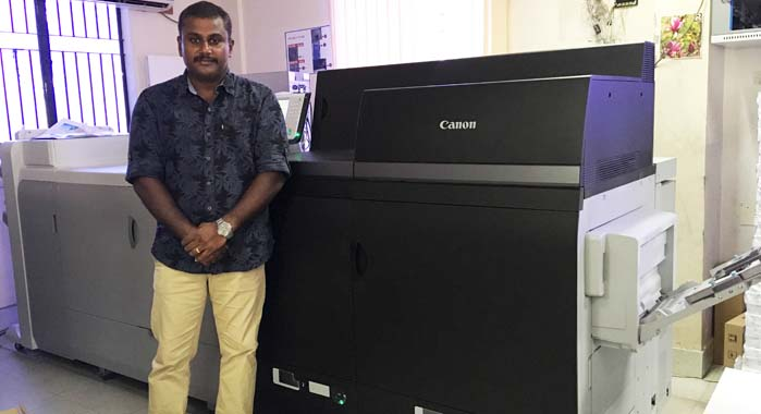 "Antony: ""The print quality that C8000VP machine delivers is far superior to its competition"""