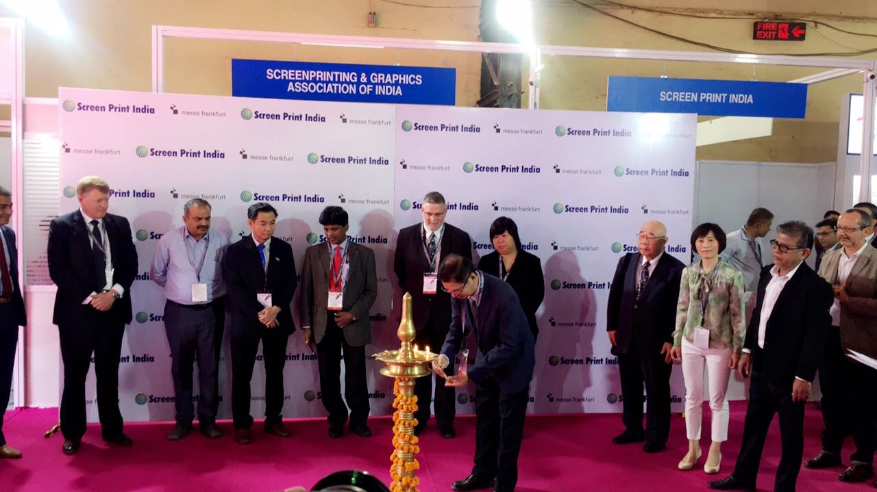 Screen Print India 2018 was formally inaugurated on 20 April