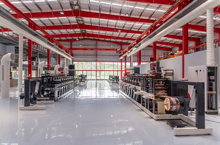 Nilpeter's new facility in Mahindra World City