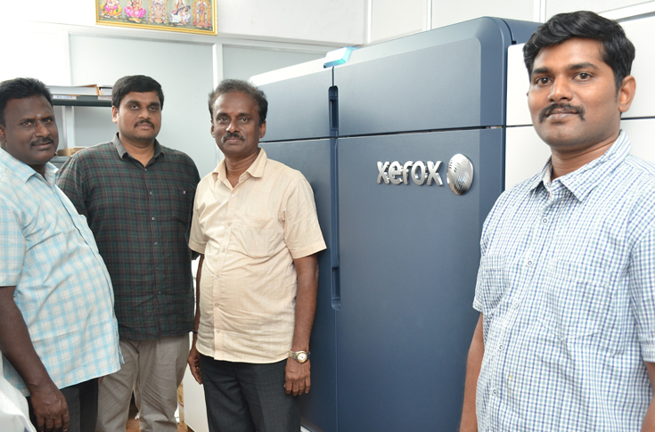 Xerox Iridesse Digital Press at Sri Sai Digital