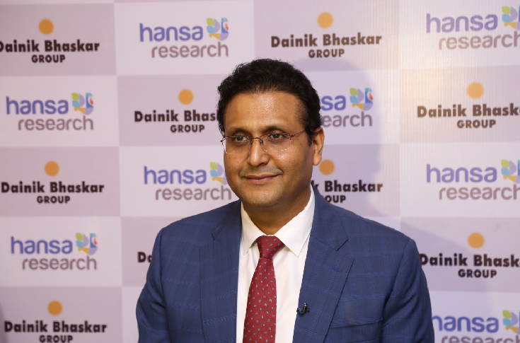 Girish Agarwaal, promoter-director of the Dainik Bhaskar Group