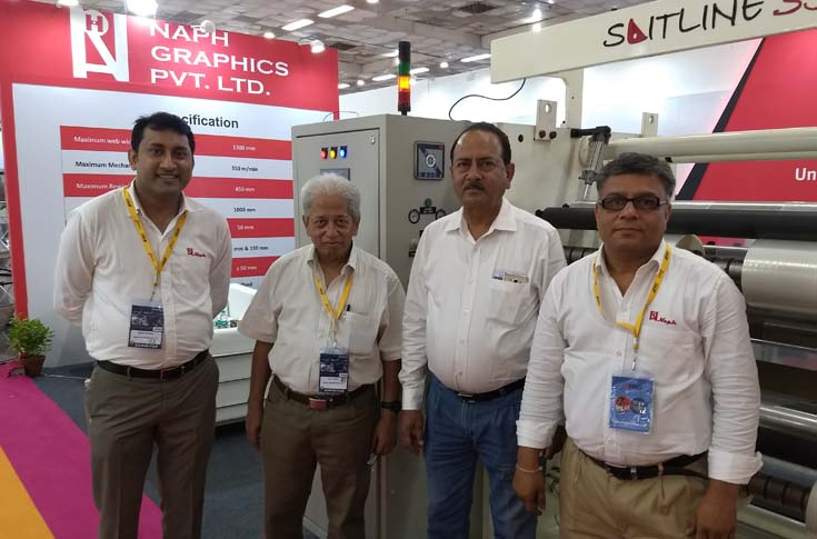 The Naph team during PackPlus 2018
