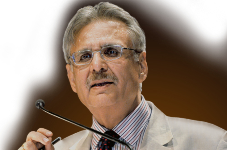 Deveshwar was conferred the Padma Bhushan for his service to the nation