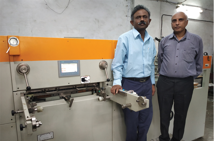 Nitin Dani Of Print Fine Used To Operate An Older Model Bobst Die Cutting Before Investing In A Maxima When Asked Why He Sold The Machine Said
