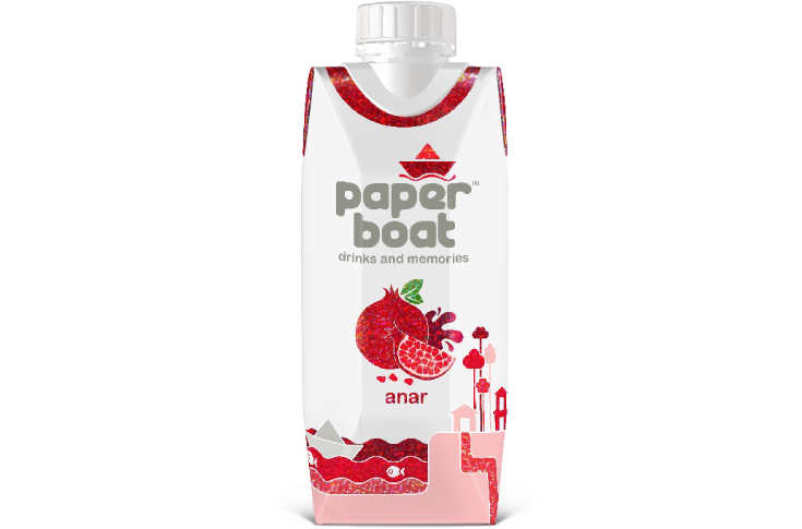 Reflect will be seen on Tetra Prisma Aseptic packs of Paper Boat's Alphonso Aamras and Pomegranate flavours
