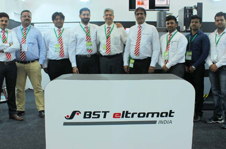 BST Eltromat India team at PackPlus 2017