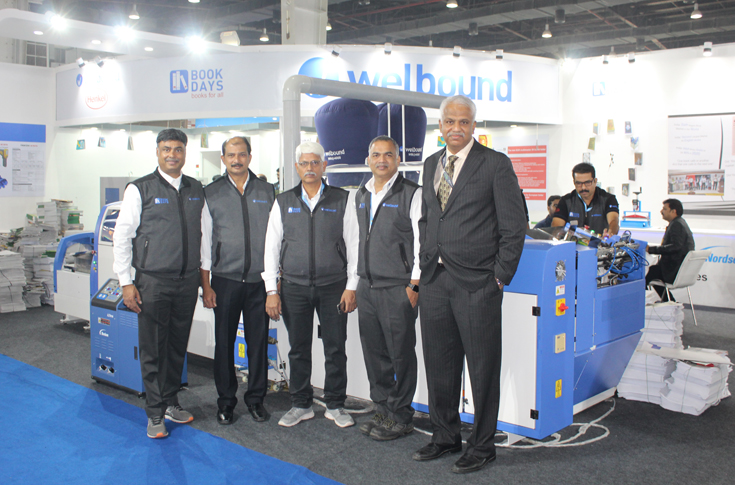The Impel-Welbound team at PrintPack 2019
