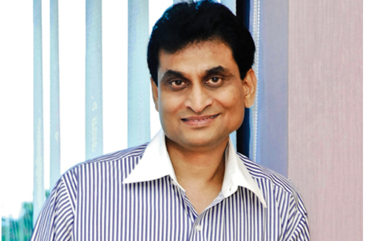 CK Ranganathan, the founder and CMD of Cavinkare